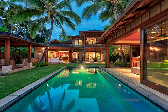 diamond head oceanfront luxury home offers oahu island living, Luxury Homes