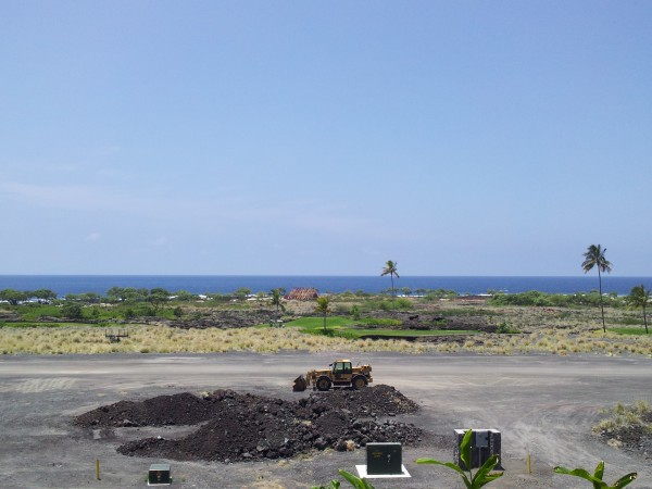 Construction at Kohanaiki resort