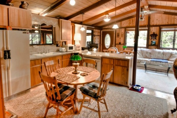 High country living on the big island with income for Open floor plans with vaulted ceilings
