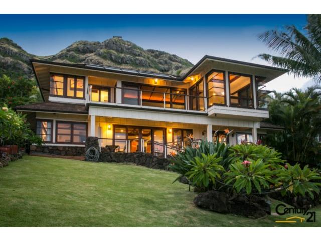 Lanikai Architectural Masterpiece With Ocean Mokulua Island Views Hawaii Life