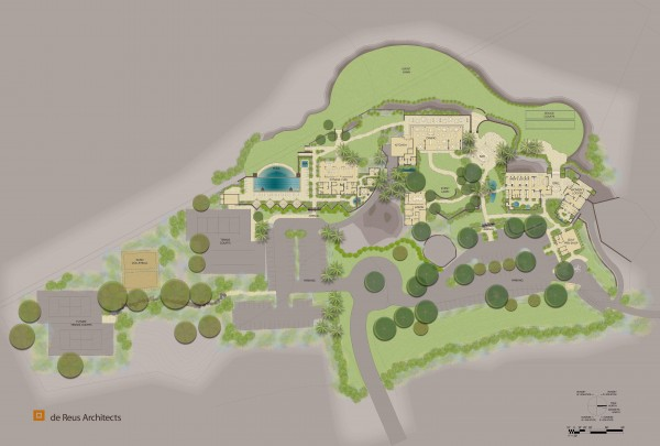 Hokulia Club House Site Plan