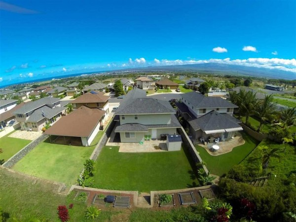 96 Hakalani Backyard Aerial