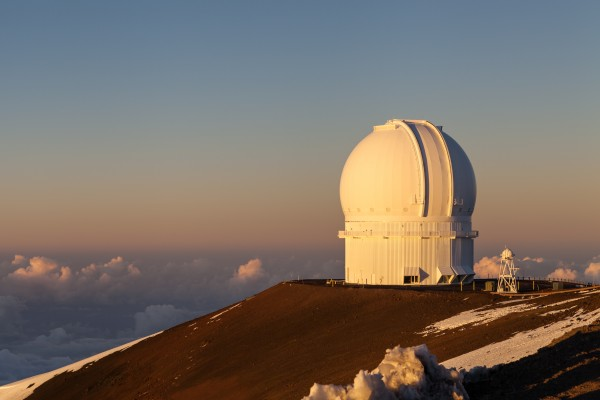 Canada-France-Hawaii_Telescope_Sunset