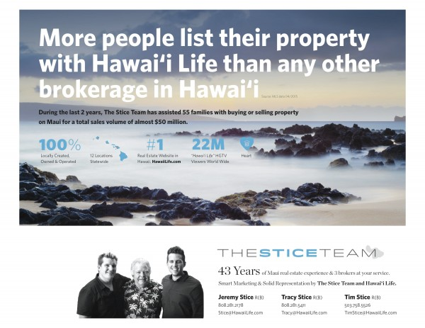 Stice Team Marketing Page