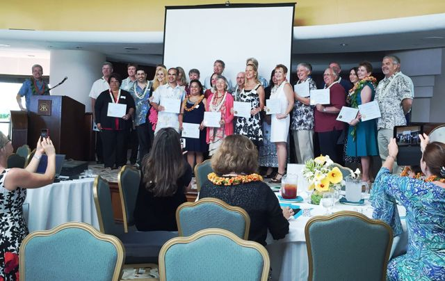 Realtors Association of Maui incoming officers